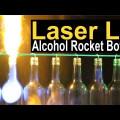 Garrafas, lasers e fogo: veja um interessante espetáculo de luzes em série