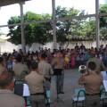 Banda de Música do 3°BPM realiza apresentação em homenagem ao Dia da Bandeira