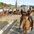Cavaleiros saíram de Santana do Ipanema para pagar promessa em Juazeiro no Dia de Finados