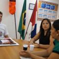 Secretaria conhece trabalho de inclusão destinado a crianças e adolescentes
