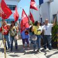 Servidores da Saúde realizam assembleia em frente à Secretaria e cobram concurso público