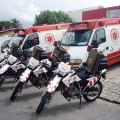 Governo entrega nesta quarta novas ambulâncias e motolâncias para Samu