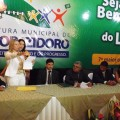 Santana Mariano é empossada para administrar Major Izidoro