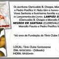 Livros Lampião em Alagoas e Negros em Santana é lançado hoje