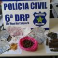 Três são presos por tráfico de drogas