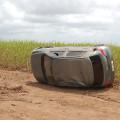 Motorista perde o controle e capota na AL 220 próximo a Campo Alegre