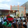 Procissão reúne fiéis para prestigiar São Sebastião, em Carneiros