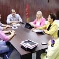 Prefeita se reúne com secretário para cobrar ações na região