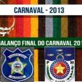 Secretaria de Defesa Social de AL aponta diminuição da violência no Carnaval 2013