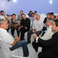 Téo recebe representantes católicos do Sertão