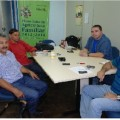 Prefeito e Secretário se reúnem com representante do Ministério do Desenvolvimento Agrário