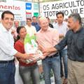 Agricultores de Santana do Ipanema recebem sementes para iniciar o plantio