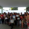 Prefeito Mário Silva entrega diploma a concluintes de curso realizado pelo CRAS Camoxinga