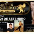 Concurso Mister Universo Alagoas começará nesta sexta-feira em Santana do Ipanema