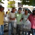 Secretaria de agricultura distribuiu alevinos em Santana do Ipanema