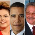 Dilma, Obama e Raúl Castro discursarão na homenagem a Mandela