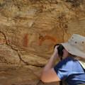FPI do São Francisco descobre pinturas rupestres inéditas em sítios arqueológicos de Olho D'Água do Casado