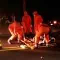 Colisão entre moto e cavalo deixa motociclista ferido em Santana do Ipanema