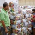 Famílias carentes de Santana receberam mais de 8 mil cestas nutricionais em 2018