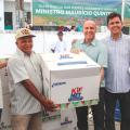 Agricultores recebem kits de irrigação e sementes em Olho d'Água das Flores
