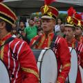 Desfile de bandas fanfarras foi atração de domingo em Santana