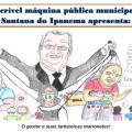 Sindicatos usam charge para denunciar perseguição e irregularidades em Santana