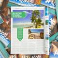 Praias de Alagoas estampam capa de revista argentina