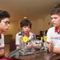 Escolas estaduais ampliam participação nas Olimpíadas de Robótica e Física