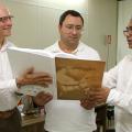 Bisneto de Delmiro Gouveia participa do relançamento do Jornal Correio da Pedra