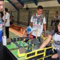 Estudantes alagoanos da educação básica apresentam projetos robóticos na SBPC