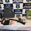 Operação apreende armas e acusados de tráfico de drogas em Santana do Ipanema