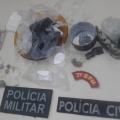 Polícia apreende drogas dentro bar na zona rural de Ouro Branco