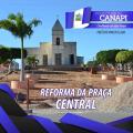 Em Canapi, Praça Central passa por reforma e melhorias para a comunidade