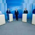 Candidatos ao governo de Alagoas fazem debate morno na TV Gazeta