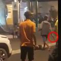 Homem é contido após ameaçar moradores com faca no centro de Maravilha