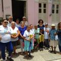 Idosas do CRAS fazem visita a Casa da Cultura em Santana do Ipanema