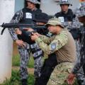 Militares do Bope ministram instruções em curso de nivelamento da Senasp no DF