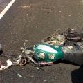 Motociclista morre após colidir com caminhão na BR 423 em Ouro Branco