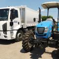 Canapi recebe trator agrícola e caminhão compactador de lixo