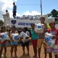 Campanha de Natal da LBV entrega 20 toneladas de alimentos em Alagoas