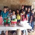Escola na zona rural de Santana leva estudantes a promover ações solidárias