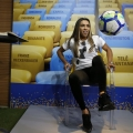 Com uma lesão na coxa esquerda, Marta ainda não treina com bola