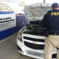 PRF recupera veículo com registro de roubo em Canapi