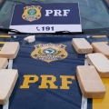 PRF apreende 10kg de pasta-base de cocaína na BR 101