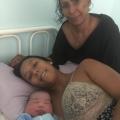 Primeiro bebê de 2019, nascido no Hospital de Santana, é uma menina