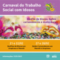 Sesc promove ações carnavalescas para o público idoso