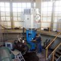 Motobomba é reinstalada na estação de captação de água em Pão de Açúcar