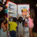 Projeto Geladeiroteca incentiva leitura em áreas públicas de Maceió