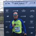 Empresário santanense participa da meia maratona em Nova Iorque