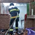 Incêndio atinge todos os cômodos de uma residência em Maravilha